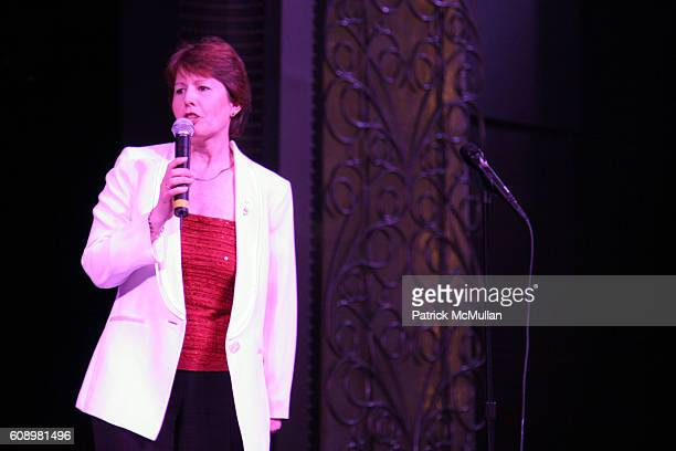 Carol Marlow attends Cunard Line Hosts The BRITANNIA BALL Aboard Queen Mary 2 To Benefit New York City Opera and Brooklyn Academy of Music at...