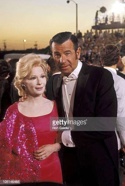 Carol Matthau and Walter Matthau during 42nd Annual Academy Awards at Dorothy Chandler Pavilion in Los Angeles California United States