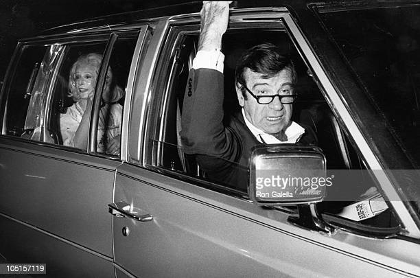 Carol Matthau and Walter Matthau during Tribute Opening Party at Tavern on the Green in New York City at Tavern on the Green in New York City New...