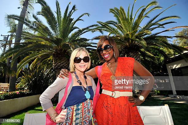 Carol McColgin and Daisy Lewellyn attend Alison Brod Public Relations Los Angeles Summer Style Event on June 15 2011 in Beverly Hills California