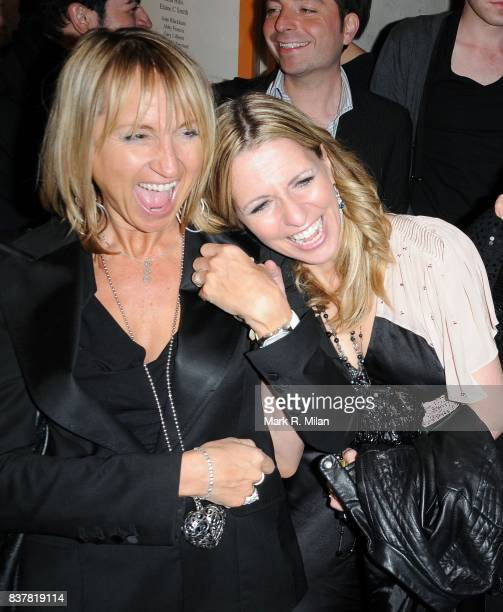 Carol McGiffin and Jackie Brambles attend the press night of 'Calendar Girls' in London