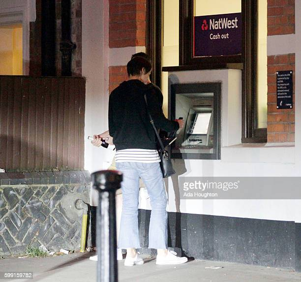 Carol McGiffin and Mark Cassidy are pictured enjoying a night out on August 26 2016 in London England