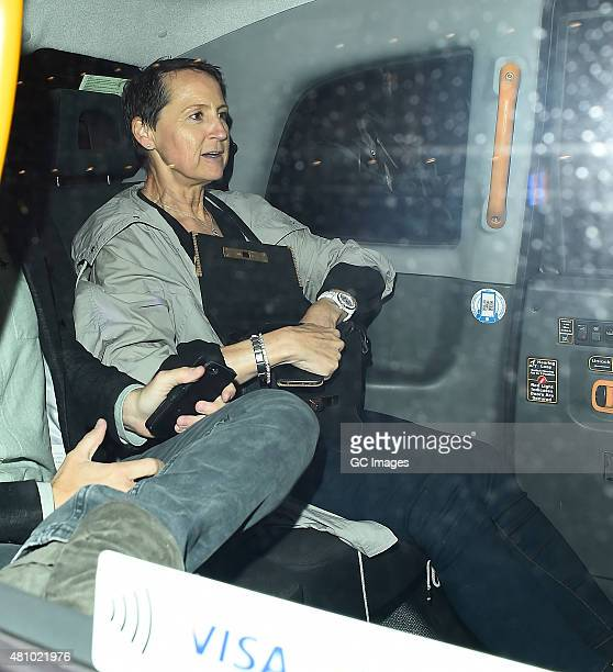 Carol McGiffin attends In The Style's Summer Part at The Drury Club on July 16 2015 in London England