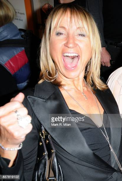 Carol McGiffin attends the press night of 'Calendar Girls' in London