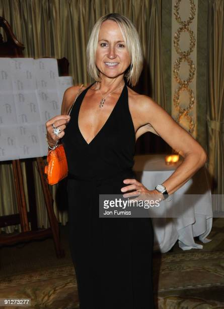 Carol McGiffin attends the TV Quick TV Choice Awards at The Dorchester on September 7 2009 in London England