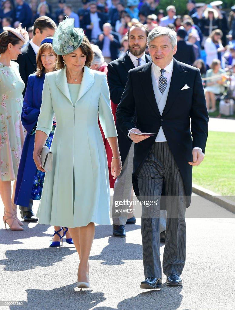 BRITAIN-US-ROYALS-WEDDING-GUESTS : Fotografía de noticias