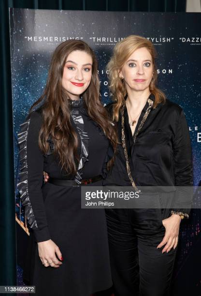 Carol Morley and Amber DoigThorne attend the Out Of Blue preview screening at Picturehouse Central on March 26 2019 in London England
