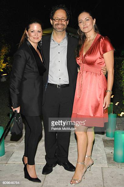 Carol Pennelli Adam Weinberg and Maria Valim attend DAVID YURMAN and THE WHITNEY MUSEUM host 'OUT OF THE ARCHIVES' at The Sagamore on December 5 2007...