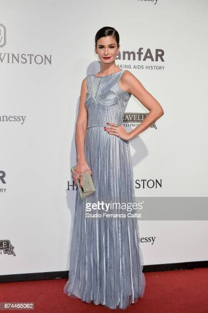 Carol Ribeiro attends the 7th Annual amfAR Inspiration Gala on April 27 2017 in Sao Paulo Brazil