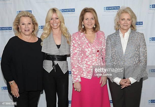 Carol Roaman Jill Martin Renee Fleming and Candice Bergen attend the Albert Einstein College Of Medicine's Women's Division 61st Annual Spirit Of...