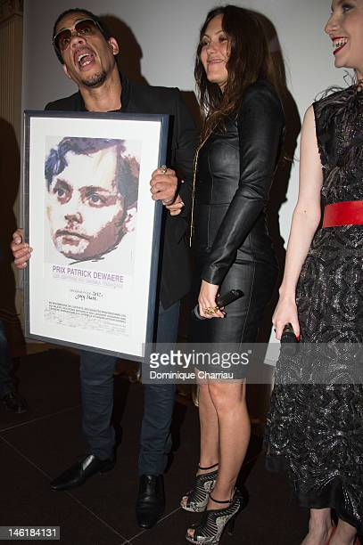 Carol Rocher and Joeystarr attend the Romy Schneider And Patrick Dewaere Awards 2012 at Hotel ShangriLa on June 11 2012 in Paris France