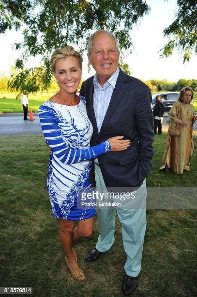 Carol Rohrig and Bill Finneran attend AN ENCHANTED EVENING Southampton Hospital's 52nd Annual Summer Party at Wickapogue Road on August 7 2010 in...