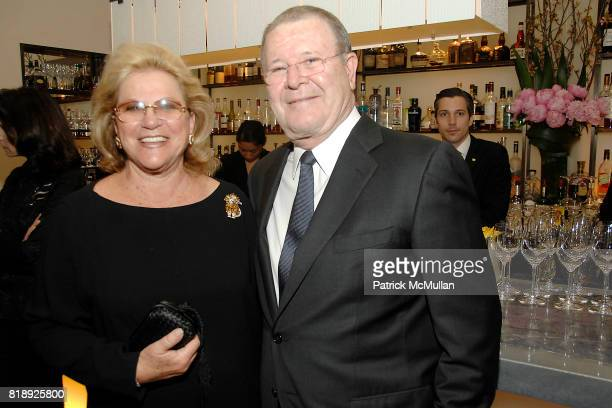 Carol Roman and Peter Glazier attend THE AMERICAN HOSPITAL OF PARIS FOUNDATION Honors CHEF DANIEL BOULUD at Daniel on May 5 2010 in New York City