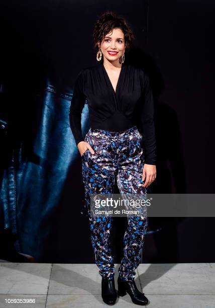 Carol Rovira attends 'Tu Hijo' premiere at the Capitol cinema on November 8 2018 in Madrid Spain