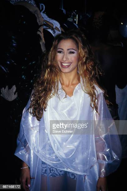 Carol Shaya Castro at Club USA New York New York August 18 1994