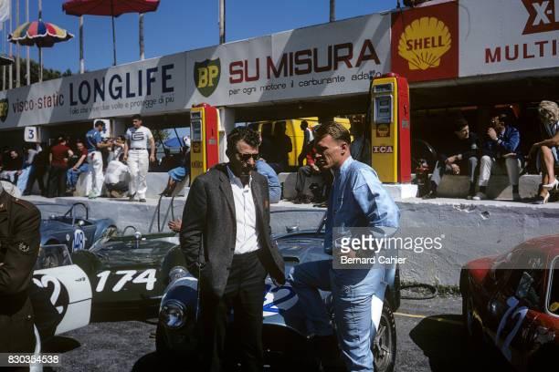 Carol Shelby, Dan Gurney, Shelby Cobra, Targa Florio, Sicily, 26 April 1964.