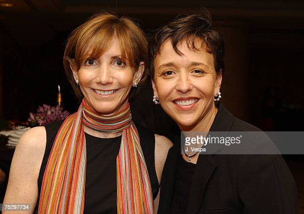 Carol Smith Sr VP Group Publisher The Elle Group and Lori Sale Miramax