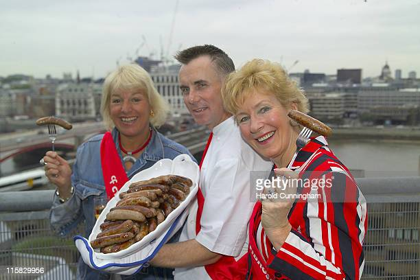 Carol Thatcher Gary Rhodes and Christine Hamilton
