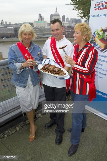 Carol Thatcher Gary Rhodes and Christine Hamilton