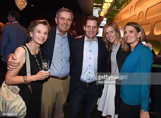 Carol Thomas David Thomas Rob Thomas Kristin Thomas and Carin Anderson attend The Country Music Hall Of Fame Museum All For The Hall New York Benefit...