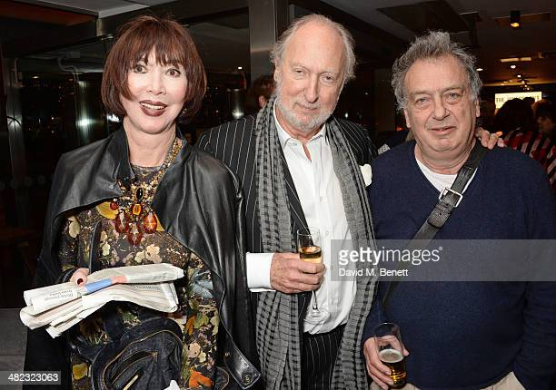 Carol Victor Ed Victor and Stephen Frears attend the launch of the 3rd annual 'Made In Britain' season featuring the films of producer Jeremy Thomas...