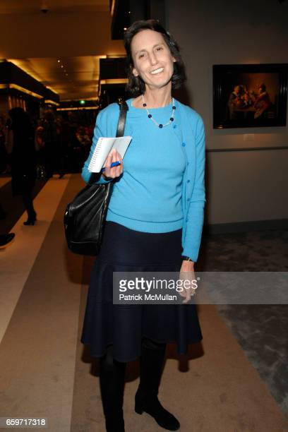 Carol Vogel attends TEFAF The European Fine Art Fair Maastricht 2009 Preview at Maastricht Exhibition Congress Centre on March 12 2009 in New York