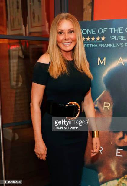 Carol Vorderman attends a special screening of Amazing Grace at The Ham Yard Hotel on May 01 2019 in London England