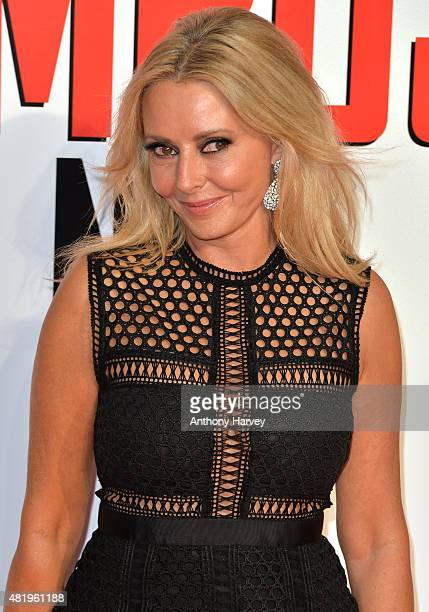 "Carol Vorderman attends an exclusive screening of ""Mission: Impossible Rogue Nation"" at BFI IMAX on July 25, 2015 in London, England."