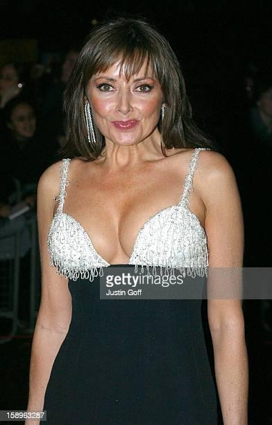 Carol Vorderman Attends The 2002 National Television Awards At London'S Royal Albert Hall