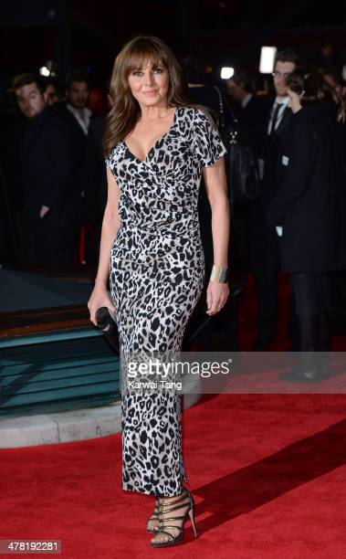 Carol Vorderman attends the 2014 British Academy Games Awards at Tobacco Dock on March 12 2014 in London England