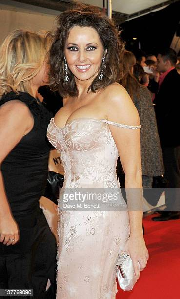 Carol Vorderman attends the National Television Awards 2012 at the O2 Arena on January 25, 2012 in London, England.