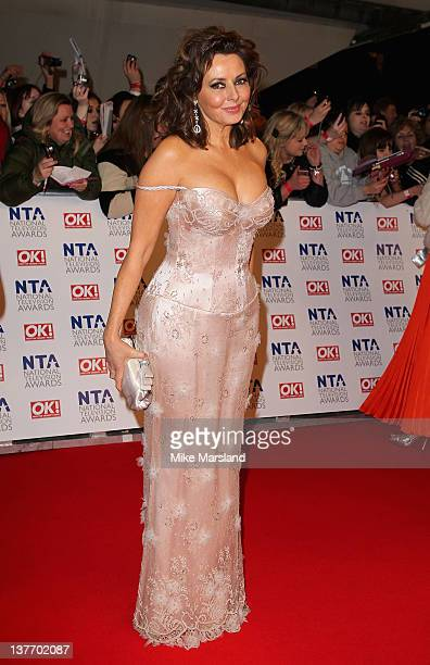 Carol Vorderman attends the National Television Awards at the O2 Arena on January 25, 2012 in London, England.