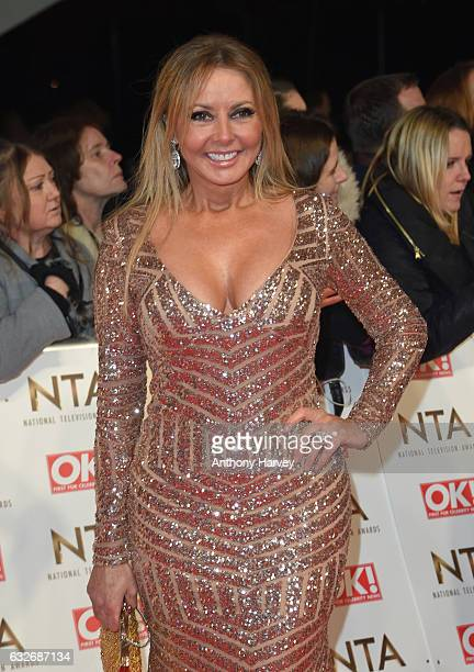 Carol Vorderman attends the National Television Awards on January 25, 2017 in London, United Kingdom.