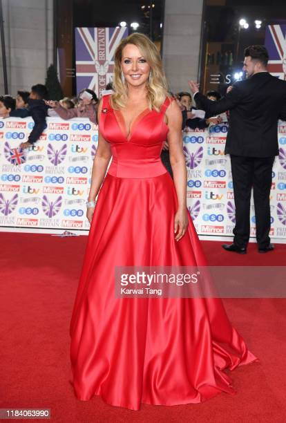Carol Vorderman attends the Pride Of Britain Awards 2019 at The Grosvenor House Hotel on October 28, 2019 in London, England.