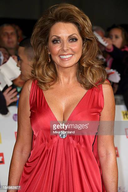 Carol Vorderman attends the Pride Of Britain awards at Grosvenor House, on October 29, 2012 in London, England.