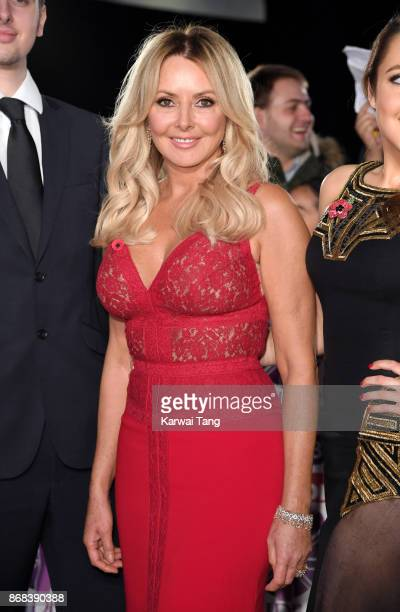 Carol Vorderman attends the Pride Of Britain Awards at the Grosvenor House on October 30 2017 in London England