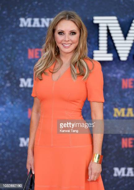 "Carol Vorderman attends the World premiere of the new Netflix series ""Maniac"" at Southbank Centre on September 13, 2018 in London, England."