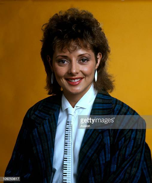 Carol Vorderman British Tv And Radio Presenter Vital Statician For The Channel 4 Quiz Show 'countdown'
