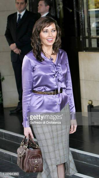 Carol Vorderman during 2005 Closer's Young Heroes Awards at The Dorchester in London Great Britain