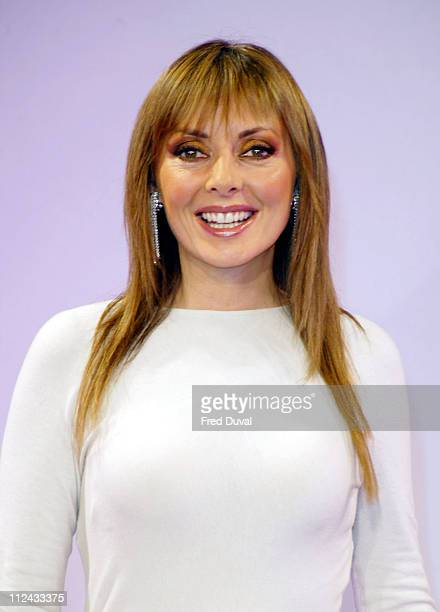 Carol Vorderman during Breast Cancer Care's Fashion Show at The Hilton Hotel in London Great Britain