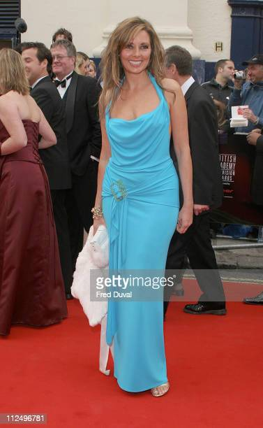 Carol Vorderman during The Pioneer British Academy Television Awards Outside Arrivals at Royal Theatre in London Great Britain
