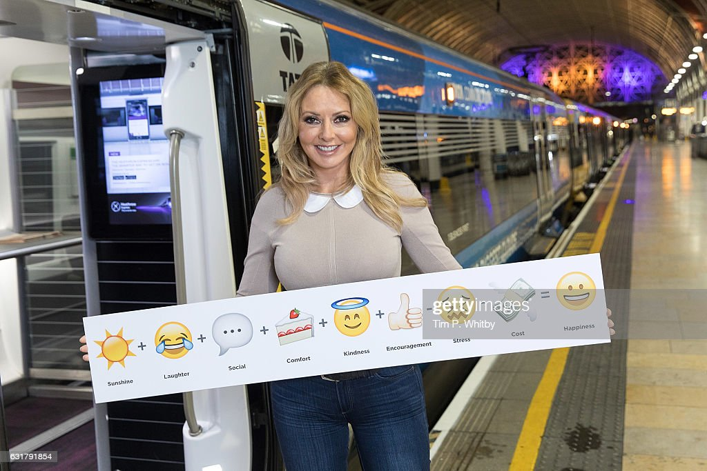Heathrow Express Happiness With Carol Vorderman