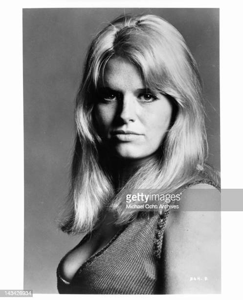 Carol White in a publicity portrait for the thriller film 'Daddy's Gone AHunting' 1969