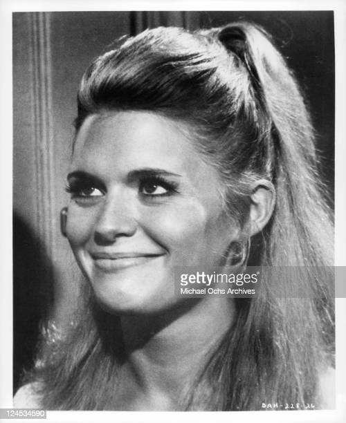 Carol White smiling in a scene from the film 'Daddy's Gone A Hunting' 1969