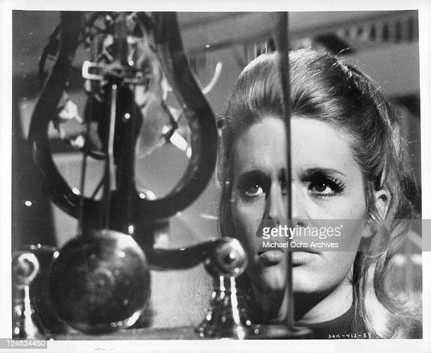 Carol White stares at clock in a scene from the film 'Daddy's Gone A Hunting' 1969