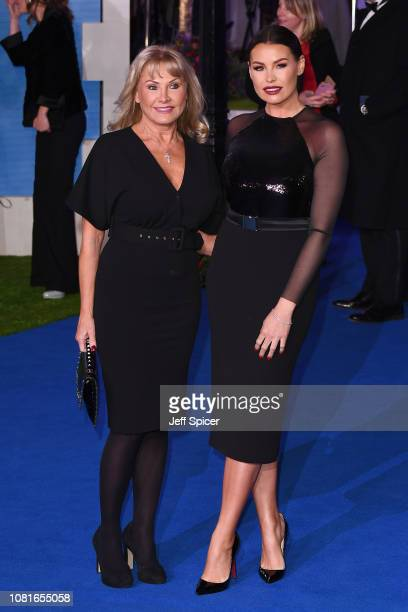 Carol Wright and Jess Wright attend the European Premiere of 'Mary Poppins Returns' at Royal Albert Hall on December 12 2018 in London England