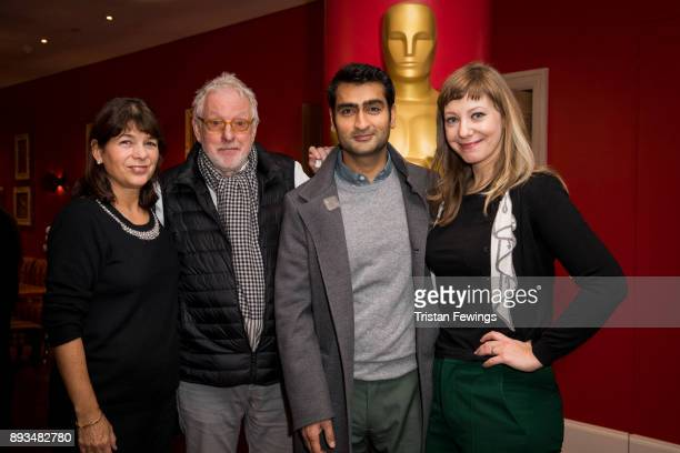 Carola Ash Hugh Hudson Kumail Nanjiani and Emily V Gordon attend the Academy of Motion Picture Arts Sciences official Academy screening of Star Wars...