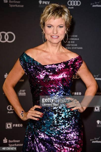 Carola Ferstl attends the 21st Aids Gala at Deutsche Oper Berlin on January 10 2015 in Berlin Germany