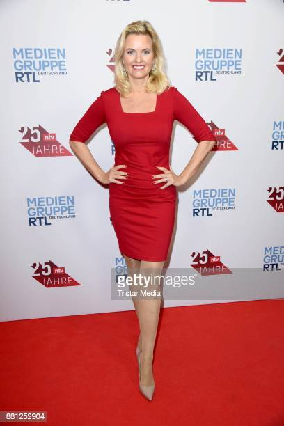 Carola Ferstl attends the 25 years anniversary ntv event at Bertelsmann Repraesentanz on November 28 2017 in Berlin Germany