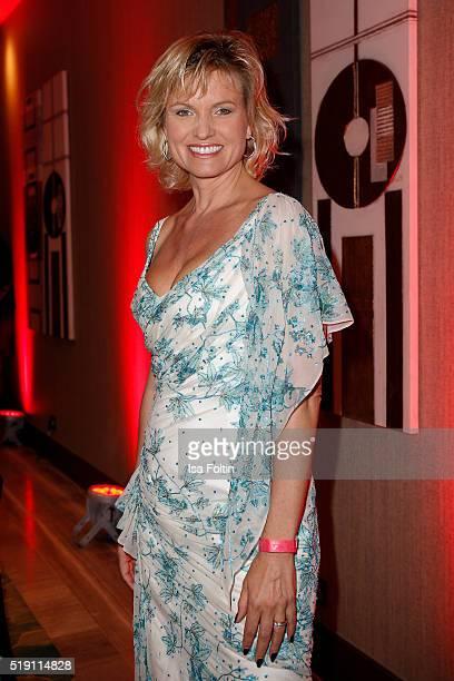 Carola Ferstl attends the Victress Awards Gala on April 4 2016 in Berlin Germany